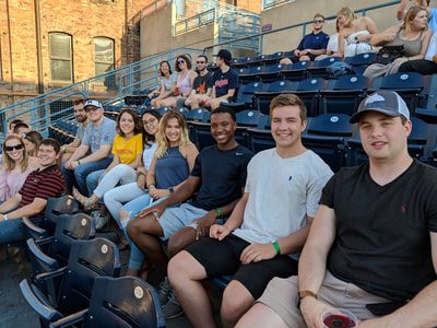 Interns at Toledo Mud Hens Game Gallery Photo 2