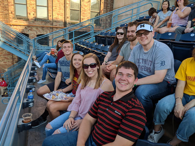 Interns at Toledo Mud Hens Game Gallery Photo 3