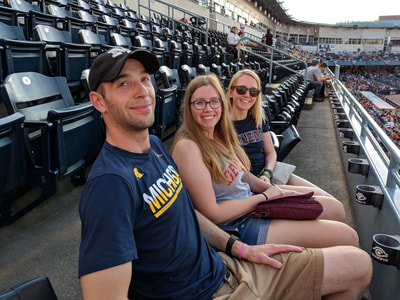 Interns at Toledo Mud Hens Game Gallery Photo 4
