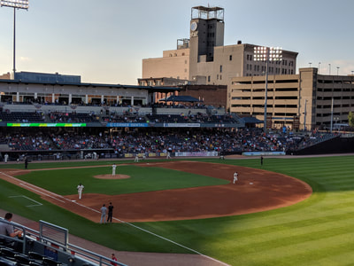 Interns at Toledo Mud Hens Game Gallery Photo 7