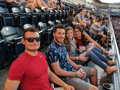 Interns at Toledo Mud Hens Game Gallery Photo 9