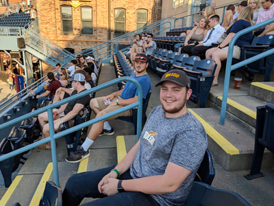 Interns at Toledo Mud Hens Game Gallery Photo 1